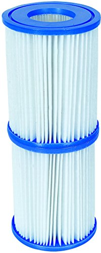Bestway Filterkartuschen, Gr.II, 10,6x13,6cm DxH 2er-Set