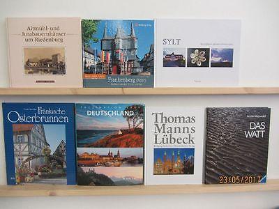 23 Bücher Bildbände Deutschland deutsche Bundesländer deutsche Städte