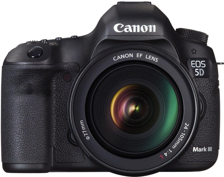 Canon EOS 5D Mark III 22,3 Megapixel DIGIC 5+ Kit inkl. 24-105 F/4 L IS USM Zoom