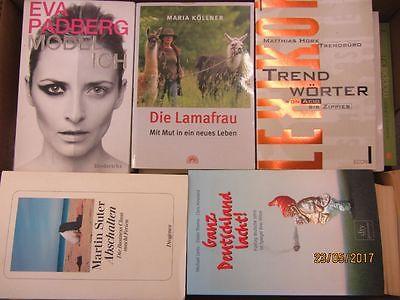81 Bücher Softcover Romane Sachbücher Erzählungen u.a.