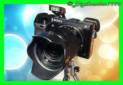Sony Alpha NEX-7K 24.3MP Digitalkamera - Schwarz (Kit mit OSS 18-55mm Objektiv)