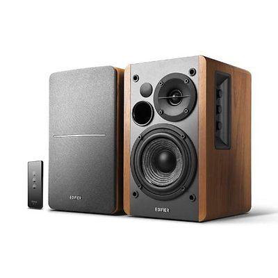 EDIFIER Studio R1280T 2.0 Lautsprechersystem Stereo Speaker Boxen 42 Watt Braun