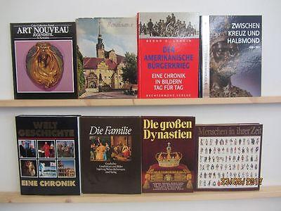 22  Bücher Bildbände Kunst Kultur Geschichte Weltgeschichte
