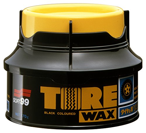 Soft99 Tire Wax Reifenwax inkl Auftragsschwamm 170g