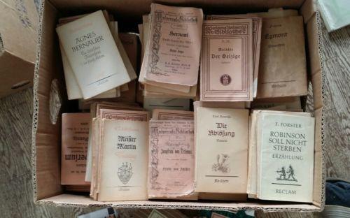 ca 260 alte reclam bücher sammlung paket