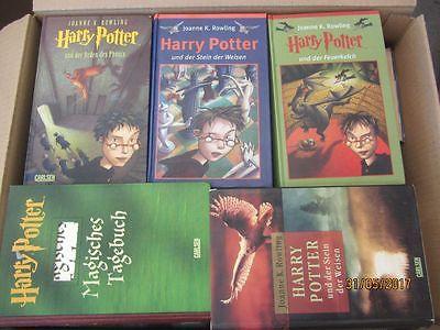 Joanne K. Rowling Harry Potter 35 Bücher Jugendromane Fantasyromane