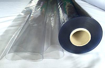 CRYSTAL CLEAR PVC VINYL TableCloth Waterproof 137wide Best Price 3.39 Per Metre