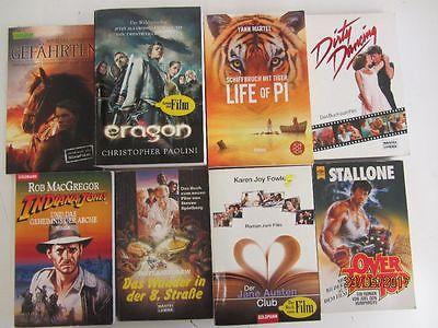 79 Bücher Taschenbücher Romane Filmromane Das Buch zum Film
