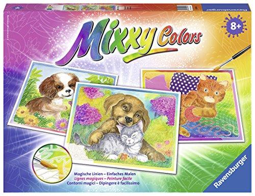 Ravensburger Mixxy Colors 29495 - Tierfreundschaft, Malset