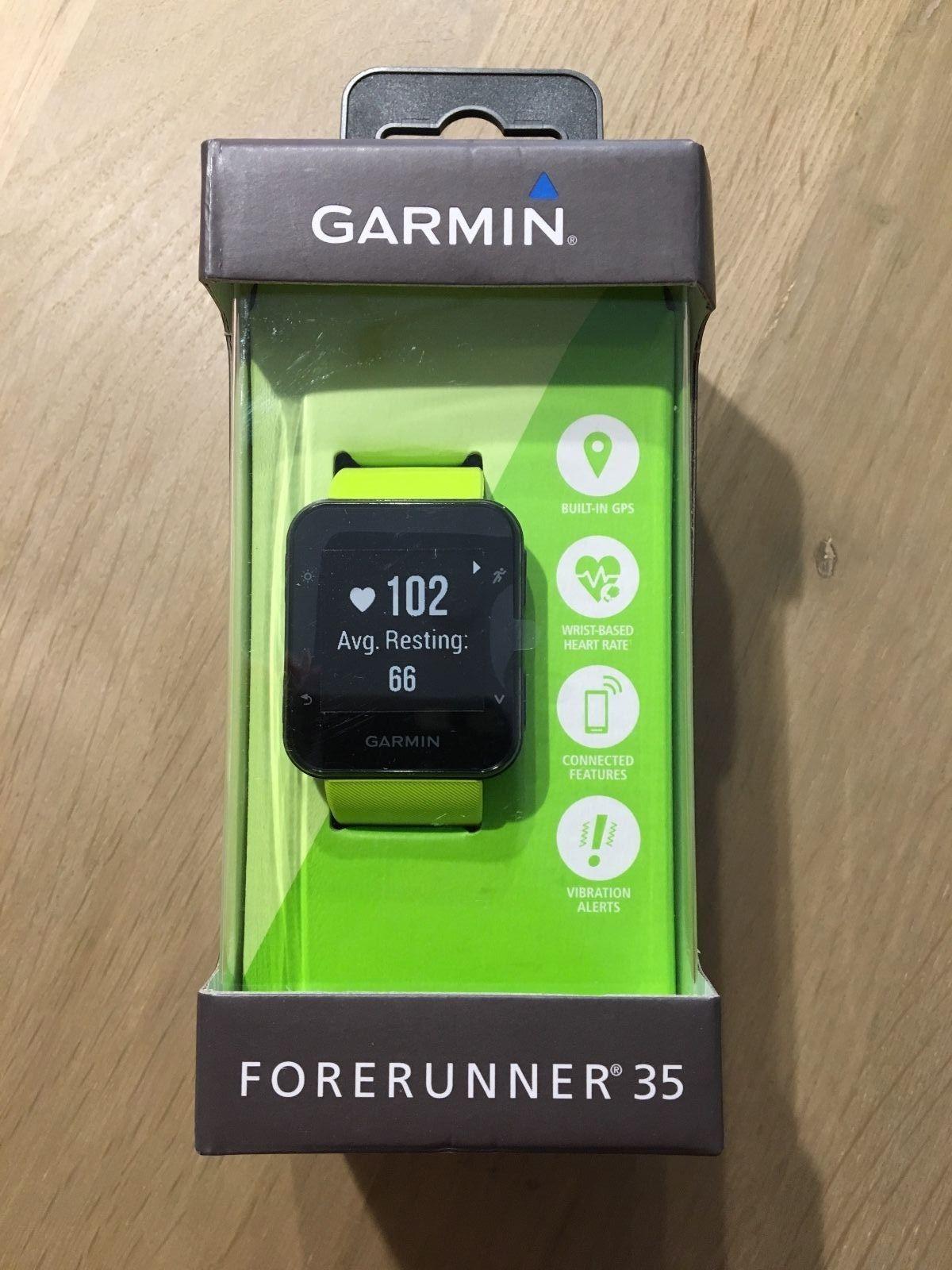 GARMIN Forerunner 35 Lime - GPS Laufuhr Smartwatch Pulsuhr * NEU *