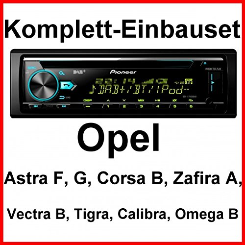 Komplett-Set Vectra B Tigra Omega Calibra Pioneer DEH-X7800DAB Autoradio USB CD