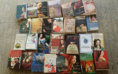 29 neuere historische romane paket sammlung
