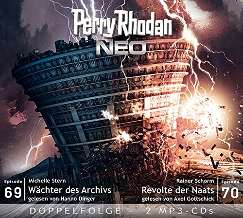 Perry Rhodan NEO MP3 Doppel-CD Folgen 69 + 70: Wächter des Archivs; Revolte der Naats