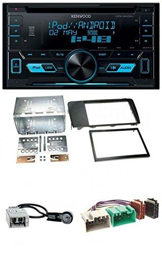 Kenwood DPX-3000U CD MP3 USB AUX 2-DIN Autoradio für Volvo S60 2004-2009 V70 XC70 2004-2007