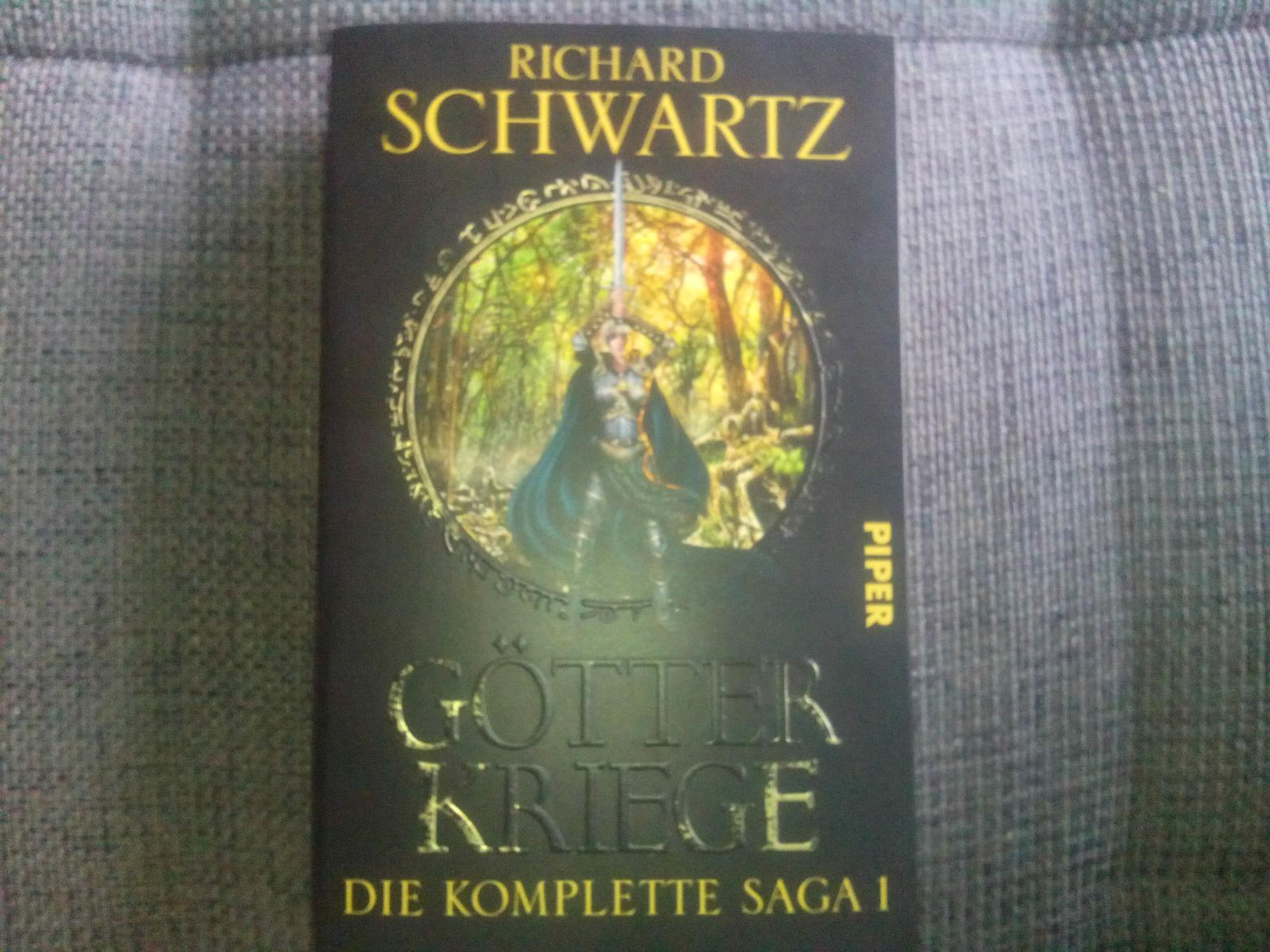 Richard Schwartz Götter Kriege Die Komplette Saga 1