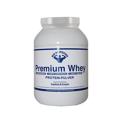 Premium Whey Protein (12,98EUR/Kg) 5000g Beutel Eiweiß 5 kg 5kg
