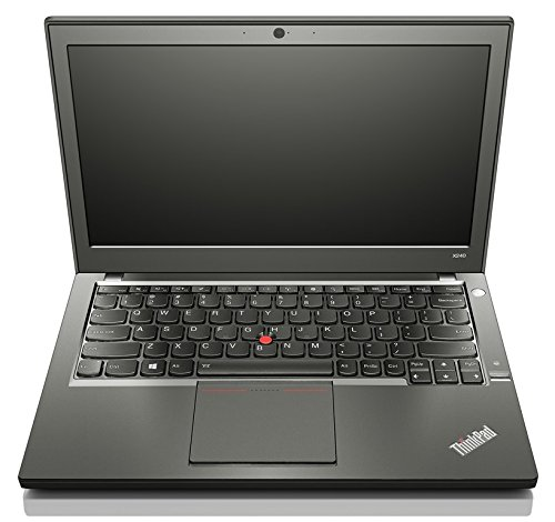 Lenovo Thinkpad X240 i5 2,6 8,0 12 1366 x 768 HD Ready 500 CAM WLAN BL Win10Pro (Zertifiziert und Generalüberholt)