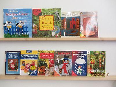 100 Bücher Hefte Basteln Bastelbücher Windowclor Origami Naturbasteln