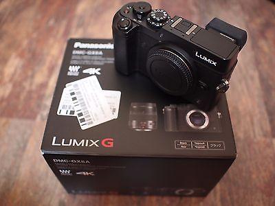 Panasonic LUMIX DMC-GX8 20.3MP - Schwarz - nur 260 Auslösungen - wie NEU - GX8