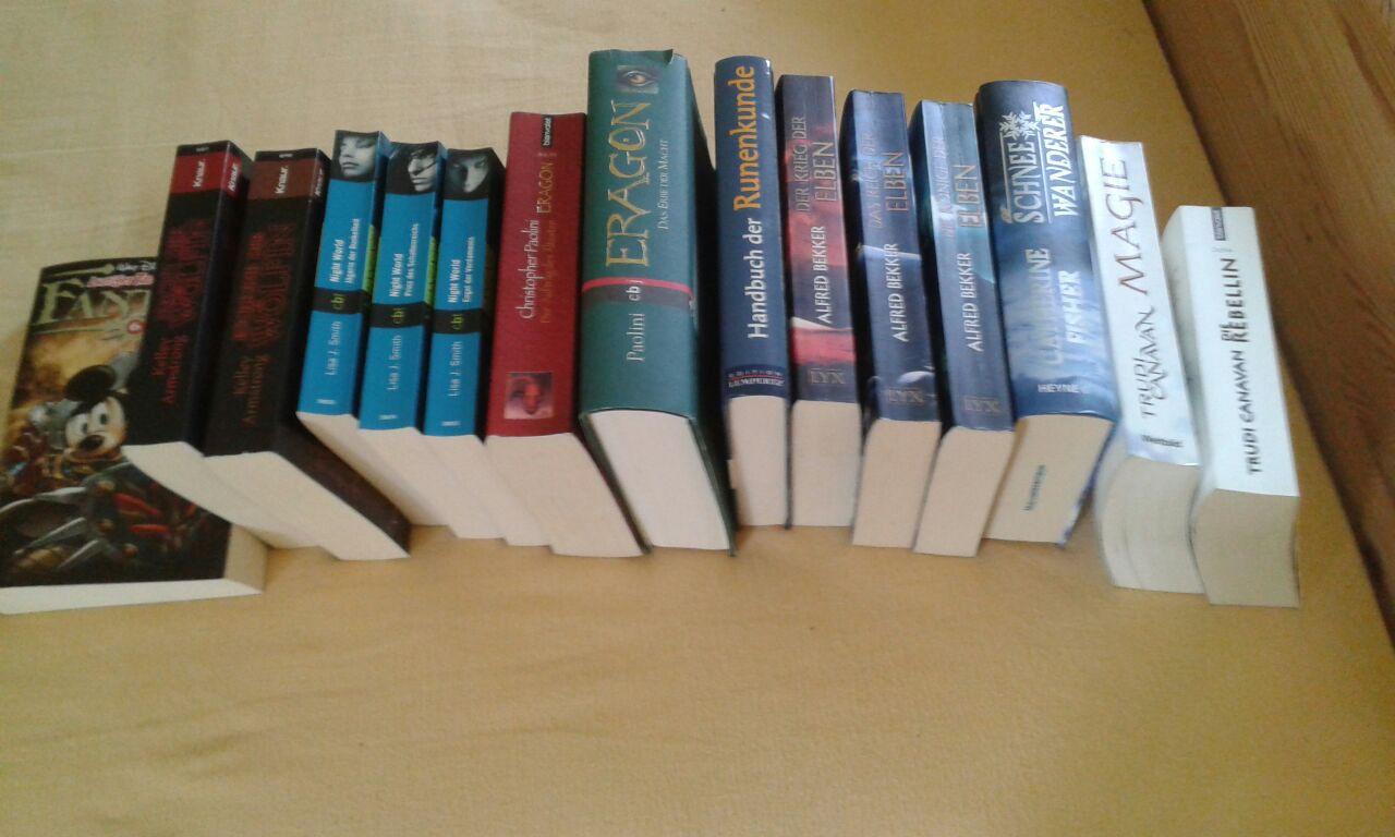 Bücher - Fantasysammlung