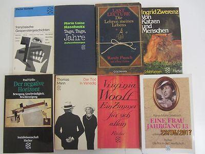 134 Bücher Taschenbücher Fischer Verlag