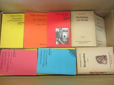 170 Bücher Hefte Reclam Verlag Reclamhefte Reclam Hefte