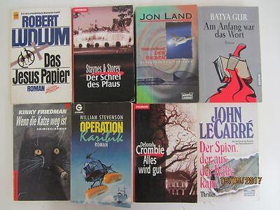 79 Bücher Romane Krimi Thriller Detektivromane Spionageromane