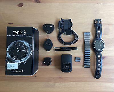 Garmin Fenix 3 Saphire Edition Saphirglas GPS Sportuhr