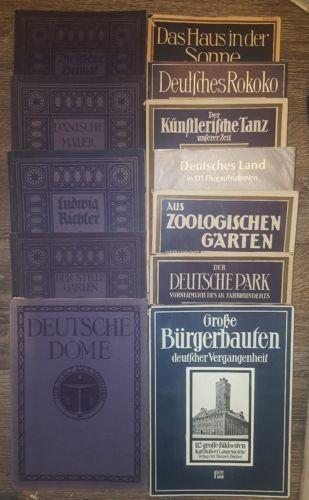 Sammlung! Die Blauen Bücher, 12 Stk