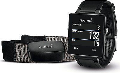 Garmin vivoactive Sport GPS-Smartwatch - inkl. Herzfrequenz-Brustgurt - OVP