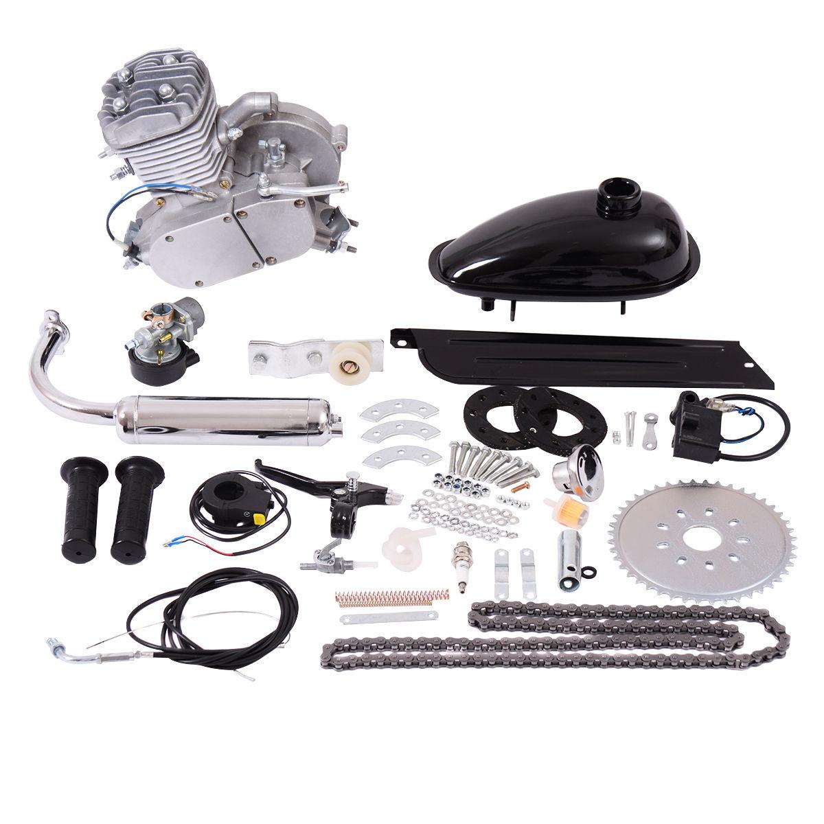 Bike Engine Kit 80cc 2-Takt Motorisierte Gas Moteur Fahrrad Benzin Hilfsmotor
