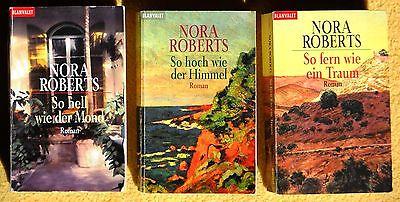 3 x Nora Roberts - Die Templeton Trilogie - komplett - So hoch wie ...