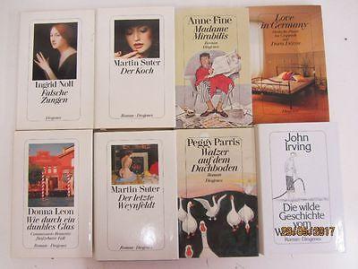 56 Bücher Diogenes Verlag Hardcover