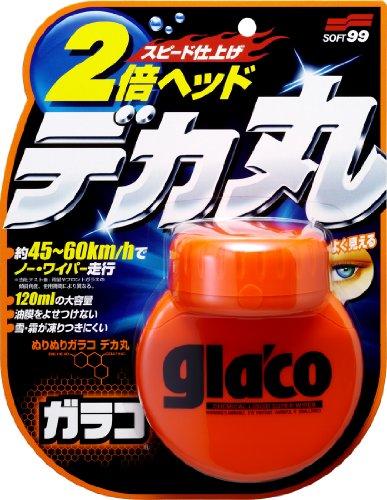 Soft99 4107 Glaco Roll On Large Glass Reiniger,  120 ml