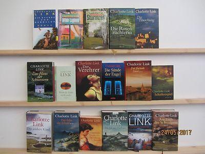 Charlotte Link 17 Bücher Romane Krimi Kriminalromane historische Romane