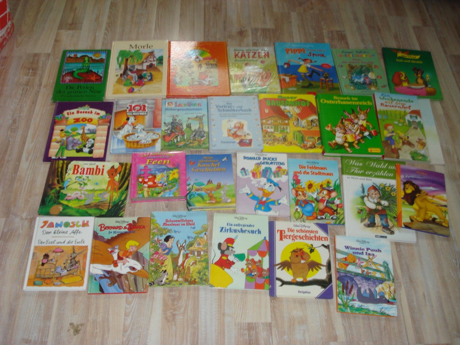 27.verschiedene Kinderbücher,von 4-12 Jahren