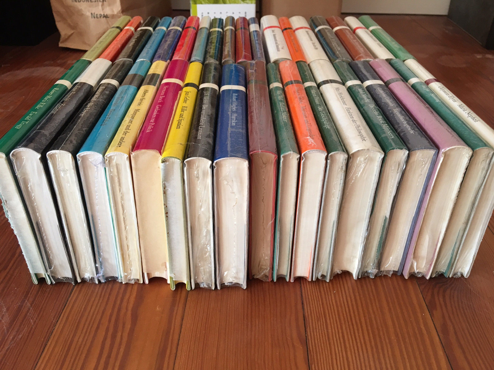 Suhrkamp Bibliothek - Paket 37 Titel - Hardcover (neu & ovp)