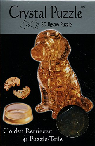 Jeruel 59122 - Crystal Puzzle, Golden Retriever