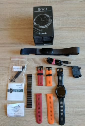 Garmin Fenix 3 Saphir Edition Performer Bundle