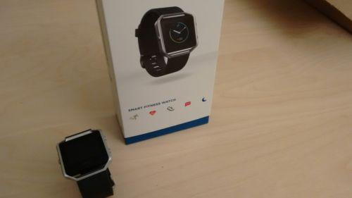 Fitbit Blaze - Smart Fitness Watch - Armband: Größe S / schwarz