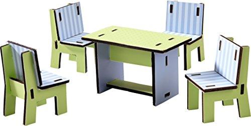 HABA 300509 - Little Friends - Puppenhaus-Möbel Esszimmer