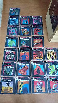 Die drei ??? Schallplatten Sammlung Vinyl (22 Stück) Drei Fragezeichen LP