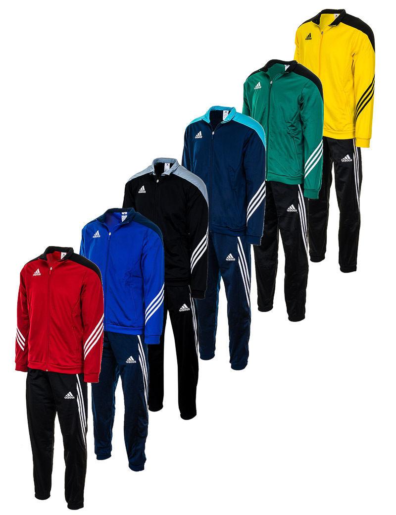 Adidas Herren Trainings Sport Fußball Anzug Freizeit Lauf Tuta Tracksuit Men NEU