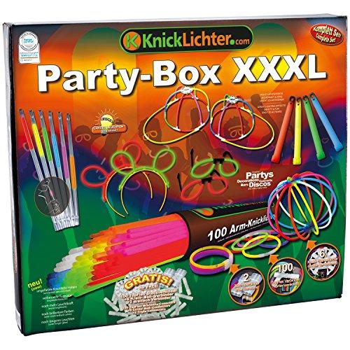 Knicklichter Party-Box XXXL, Testnote: 1,4