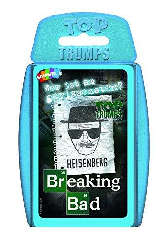 Winning Moves WIN62097 - Top Trumps - Breaking Bad, Kartenspiel
