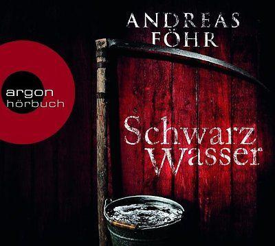 Andreas Föhr - Schwarzwasser (Hörbuch) 6 CDs  gel.v. Michael Schwarzmaier - neuw