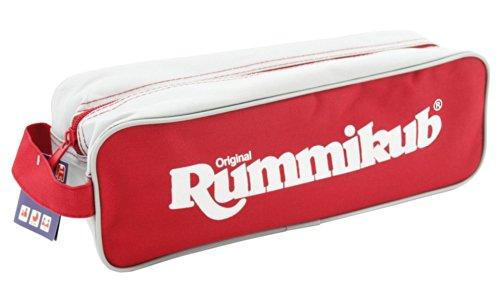 Jumbo 03975 - Original Rummikub in Tasche, Legespiel