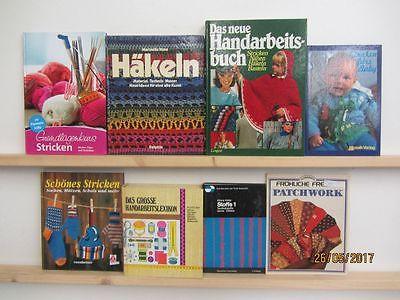 23 Bücher Handarbeiten Nähen Stricken Patchwork Häkeln