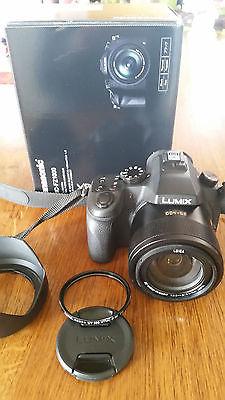 726ed965ac6d9 Panasonic LUMIX DMC-FZ1000 20.1 MP Digitalkamera - Schwarz 4K fähig und mit  WiFi