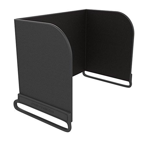 Hensych® Fernsteuerpult Telefon Monitor Sonnenhaube Sonnenschutz Abdeckhaube Smartphone Tablet iPad Sonnenschutz für DJI MAVIC PRO / Inspire / PHANTOM 3 4 M600 OSMO (< 111mm, Schwarz)
